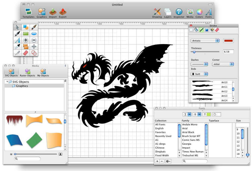 Cartoon Design Software Mac